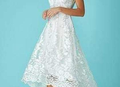 Super cute high low wedding dress