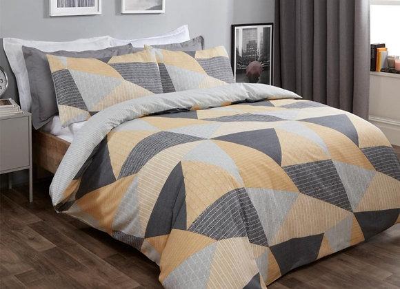 Geometric design duvet cover
