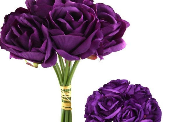 Roses bundle purple