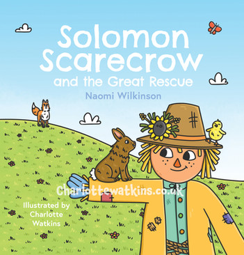 Solomon Scarecrow and the Great Rescue - Cover