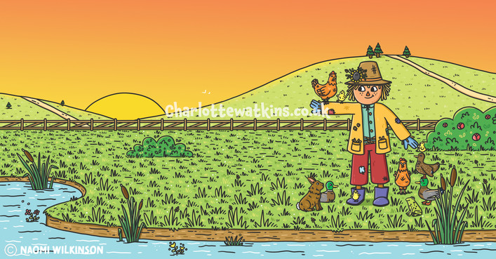 Solomon Scarecrow and the Great Rescue - Inside Page