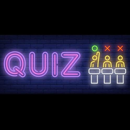 Quiz et Multi-jeux