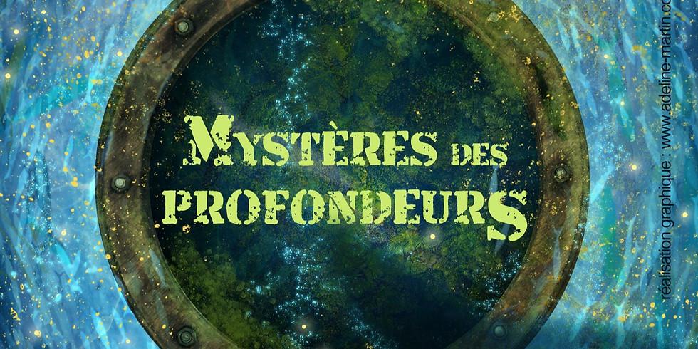 """Inauguration salle """"Mystères des profondeurs 2.0"""""""