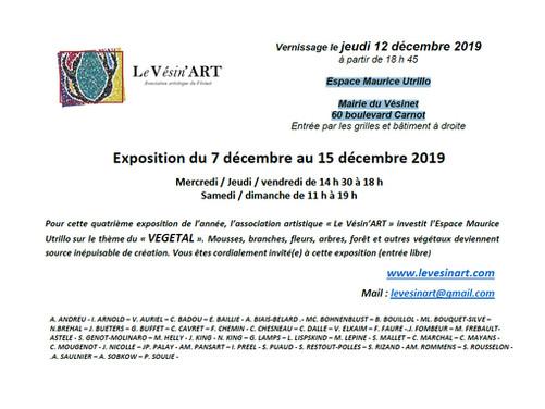 Exposition Vésin'ART 2019