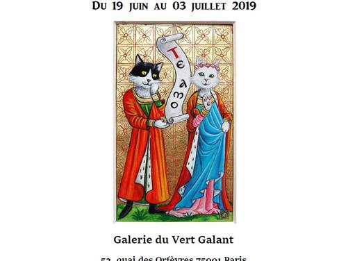 Exposition Galerie du Vert Galant à Paris