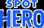 Iparq parking partner Spot Hero logo