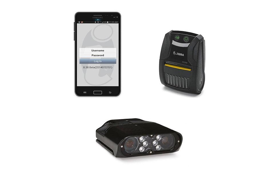parking enforcement handheld devices
