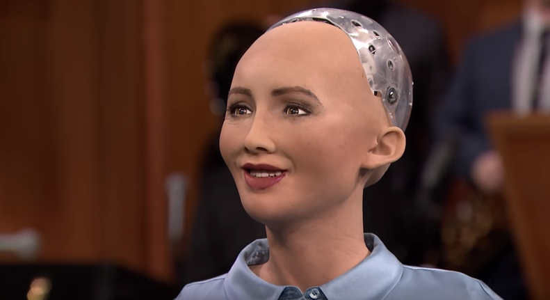 Sophia, the best example for an AI enabled Human Robot