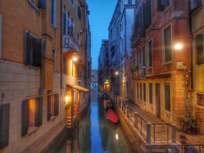 Canal at Dusk