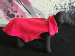 48. RC Pets red fleece 10, 12, 16, 18