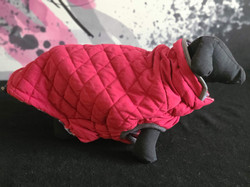 56. Bailey and Bella red fleece puffy sweater XL