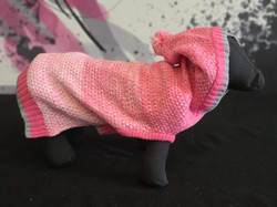35. Bailey and Bella pink sweater XS, S, M, L, XL