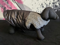 28. Bailey and Bella grey black puffy sweater S, M, L