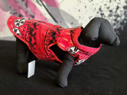 5. Bailey and Bella red black white pattern sweater S, M, L