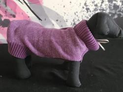 68. Bailey and Bella purple turtleneck sweater L