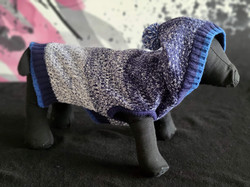 41. Bailey and Bella blue grey sweater with hood S, M, L, XL