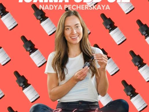 Nadya Pecherskaya Co-Founder of ICARIA CBD Oil