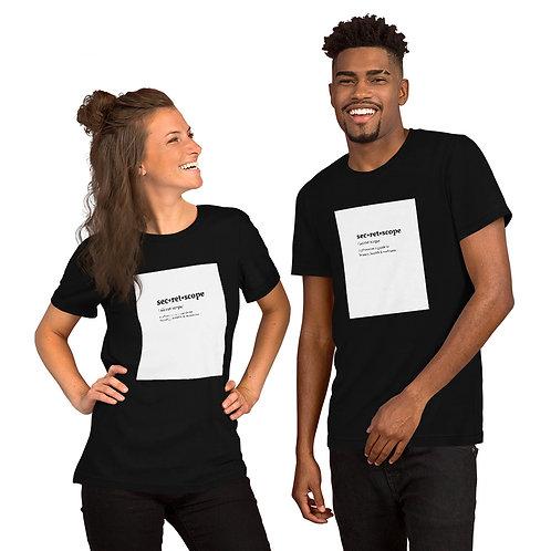 The Secret Scope Definition T Shirt