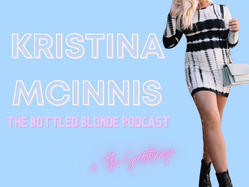Kristina Mcinnis of The Bottled Blonde Podcast on branding, blogging, podcasting and more!