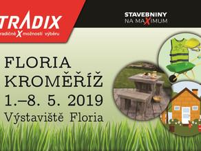 Expozice TRADIX na FLORII KROMĚŘÍŽ 1.–8. 5. 2019
