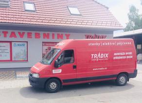 Tradix Kroměříž posílil svůj vozový park