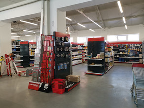 Brněnská prodejna TRADIX se dočkala modernizace