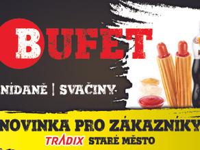 NOVINKA - Bufet v TRADIXU Staré Město