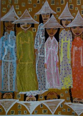 Vietnamian Ladies 78X64cm.jpg