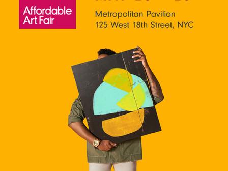 Affordable Art Fair New York, Spring 2021