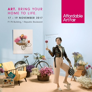 Singapore Affordable Art Fair Nov 16-19th, 2017 at the F1 Pit