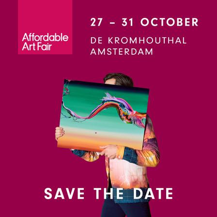 Affordable Art Fair Amsterdam, Oct 28-31, 2021