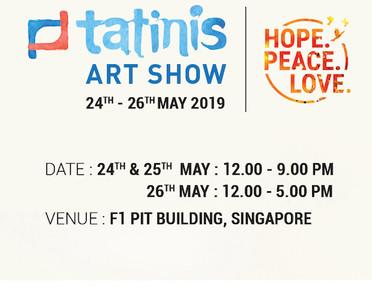 Tatinis Art Show SG 2019