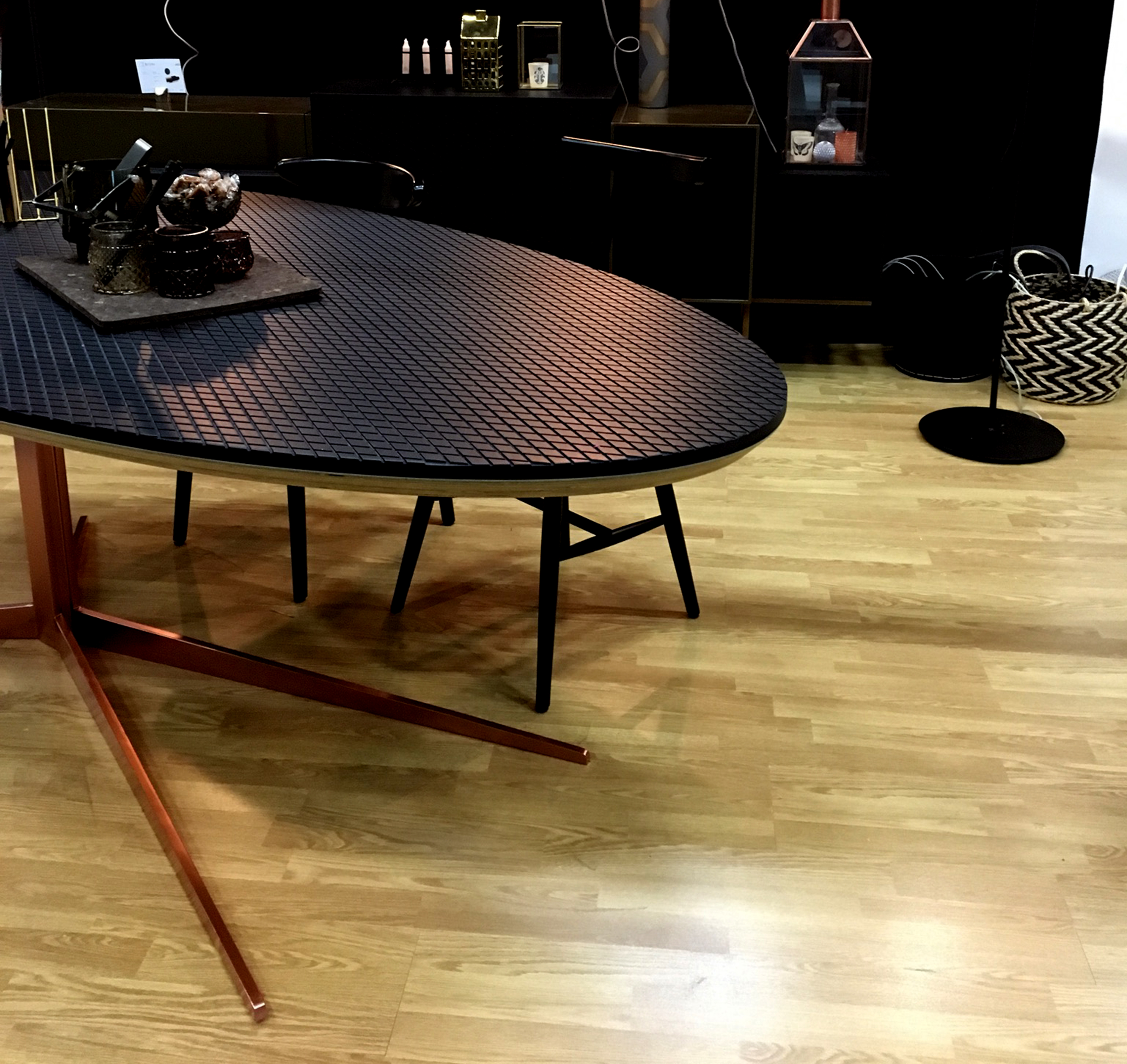Table Ovale sur mesure Bricks