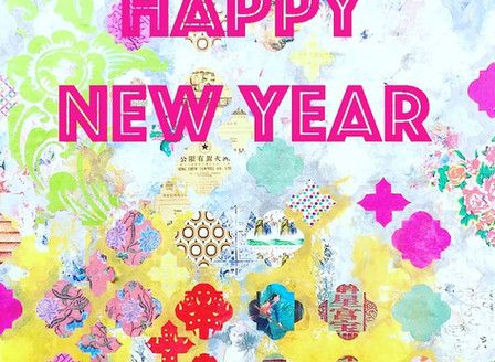 Wish you all a wonderful new year, full of colors and art!!