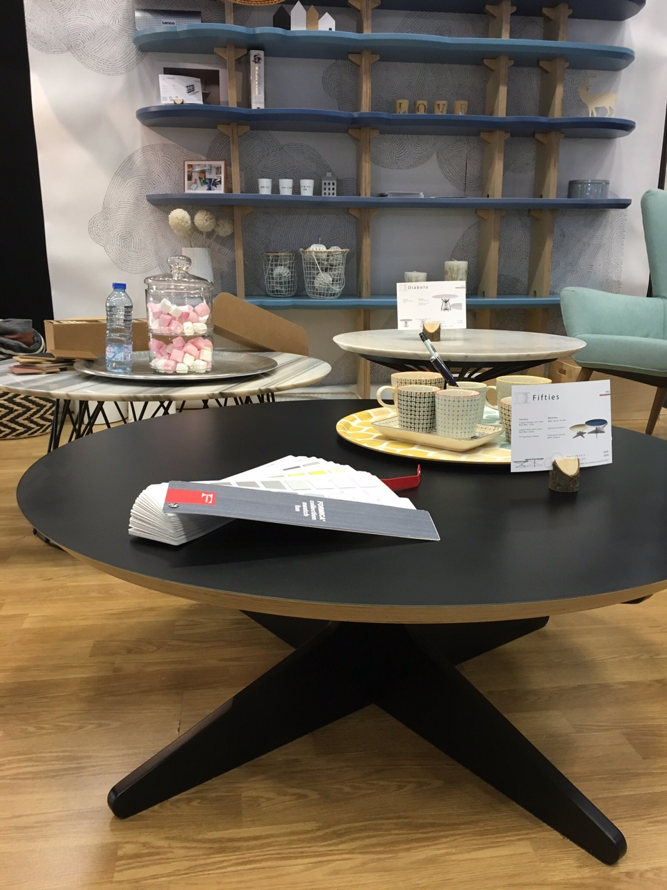 Table basse fifties