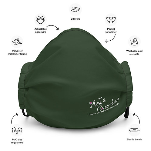 Mel's Garden Premium face mask
