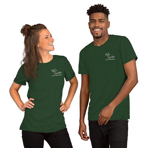DARK COLOURED Embroidered Short-Sleeve Unisex T-Shirt