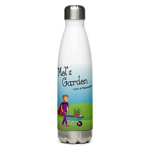 Mel's Garden Stainless Steel Water Bottle