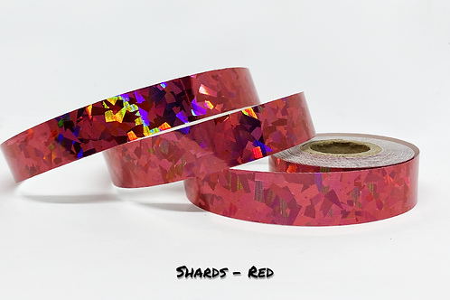 Shards Tape RED