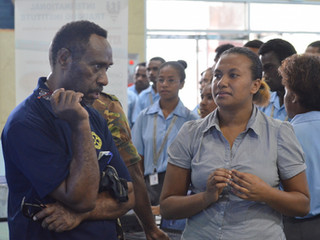 Papua New GuineaNational Capital District Schools Career Expo!