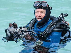 The man behind the scuba instructors I.D Bible!