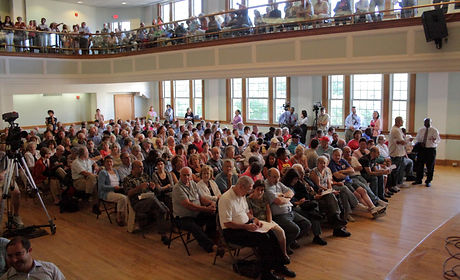 West Hartford, Connecticut health care reform town hall meeting