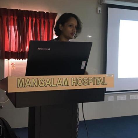 Breastfeeding Session at Mangalam Hospital