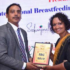 International Breastfeeding Conference as a panel speaker