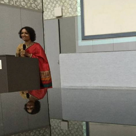 At Saveetha University during World Breastfeeding Week