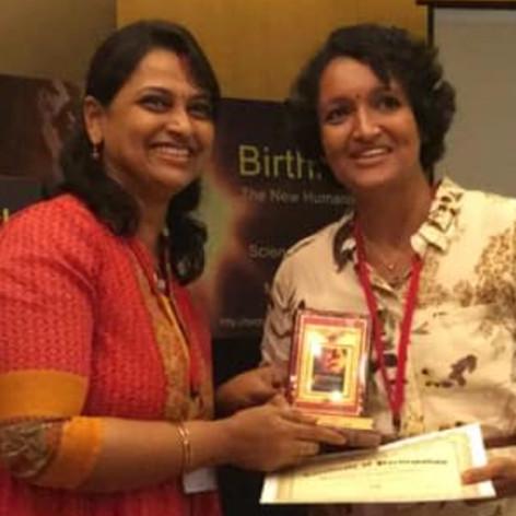 At BTNH Bangalore as a speaker