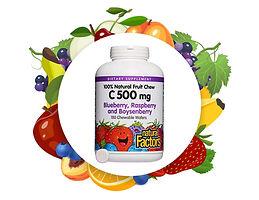 Natural Factors Chewable Vitamin C