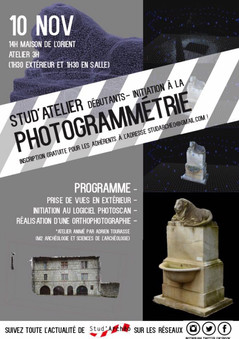 Photogrammétrie - 10 novembre 2017