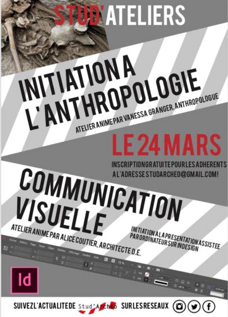 Anthropologie - Communication visuelle - 24 mars 2018