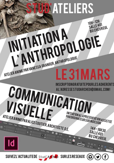 Anthropologie - Communication visuelle - 31 mars 2018